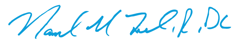 Dr. Ray Tuck signature
