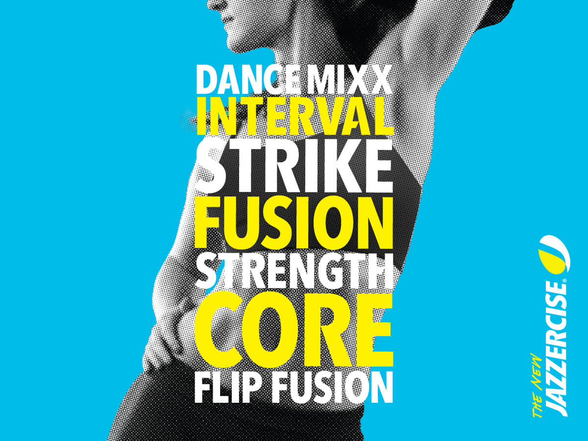 Jazzercise Poster Graphic